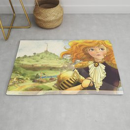 The Little Doll Girl: Cover Rug