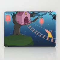 climbing iPad Cases featuring Climbing by Loezelot