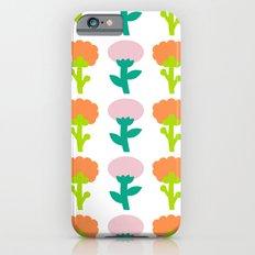 Retro Flower Slim Case iPhone 6s