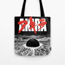AKIRA - Neo Tokyo Is About To Explode Tote Bag