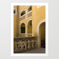 The Atrium Art Print