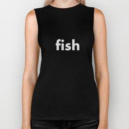 FISH Biker Tank