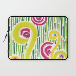 Spring in the backyard (of shapes and colors) Laptop Sleeve