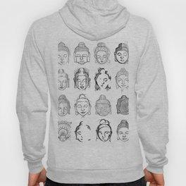 Many Buddhas Hoody