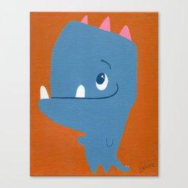 Tyrone, Big Head Little Arms Canvas Print