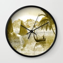 In the rian Wall Clock