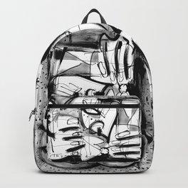 Drinker - b&w Backpack