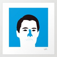 dale cooper Art Prints featuring Agent Dale Cooper by quibe