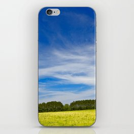 Wye Island Sky Field - Eco Harmony iPhone Skin