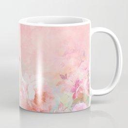Modern blush watercolor ombre floral watercolor pattern Coffee Mug