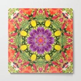 Star Flower of Symmetry 504 Metal Print