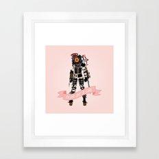Fight Like a Girl: Big Sister Framed Art Print