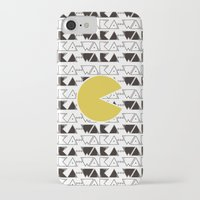 pac man iPhone & iPod Cases featuring · Pac Man · by Diana Fernanda Vélez