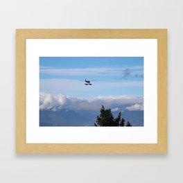 The Plane Framed Art Print