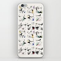 exo iPhone & iPod Skins featuring Love Me Right - EXO by putemphasis