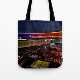 Aros Aarhus, Denmark, Your rainbow panorama Tote Bag