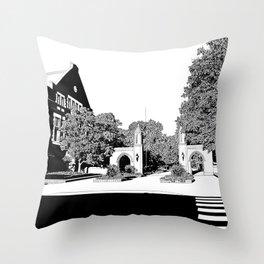 bloomington III Throw Pillow