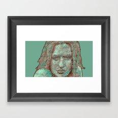 in the mind´s eye... Framed Art Print