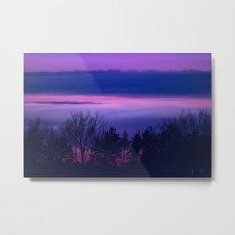violet forest Metal Print