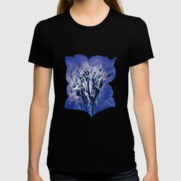 Thistle and Weeds_deep purple T-shirt