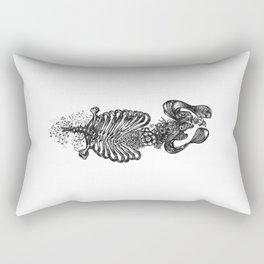 Ribs x Nature Rectangular Pillow