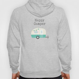 Happy Camper White Hoody