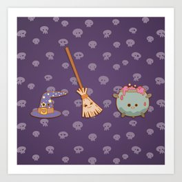Witches, witches, witches Art Print