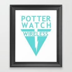 Potterwatch Wireless Framed Art Print