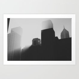 This was morning Art Print