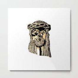 Jesus Piece Metal Print