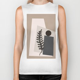 Shapes Abstract Biker Tank
