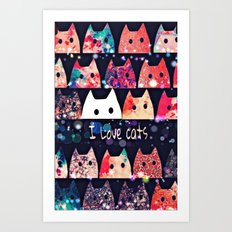 cat-214 Art Print