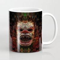 demon Mugs featuring Demon by Zandonai