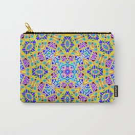 Persian kaleidoscopic Mosaic G521 Carry-All Pouch