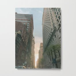 Philly Street View Metal Print