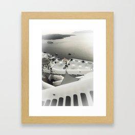 dreaming Fira Framed Art Print