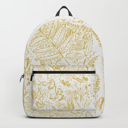 Swimming in autumn leaves Backpack
