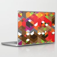 edm Laptop & iPad Skins featuring Life like a Geometry by Sitchko Igor