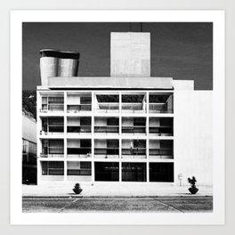 Architecture of Impossible_Como Le Corbusier Art Print