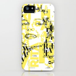 Hayworth Actress Hollywood iPhone Case