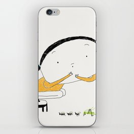 The cricket iPhone Skin