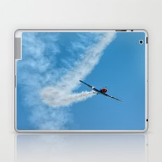 Air show with old military aircraft Laptop & iPad Skin