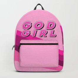 God Girl (pink) Backpack