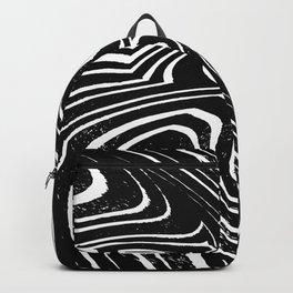 Zebra Grunge 1 Backpack