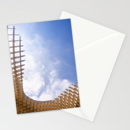 Metropol Parasol wooden structure in Seville, Spain Stationery Cards