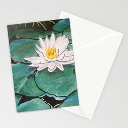 Lily of the Water Stationery Cards