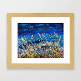 MYSTIC KOI Framed Art Print