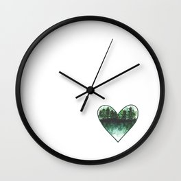 Home: Where the Heart Is Wall Clock