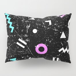 Memphis Grunge Pillow Sham