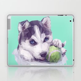 Husky Blues Laptop & iPad Skin